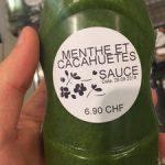 Sauce Menthe et Cacahuètes