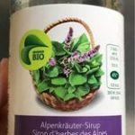 Sirop d'herbes des Alpes