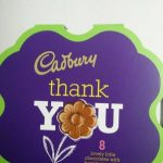 Thank You - 8 lovely chocolate with hazelnut praline