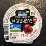 Yaourt au lait de la Gruyère