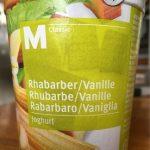 Yogourt Rhubarbe/Vanille